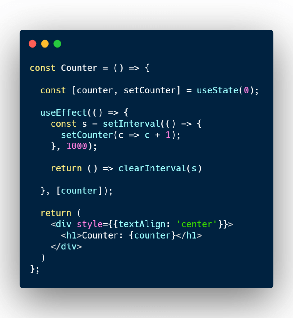 Replicating componentDidUpdate with React useEffect