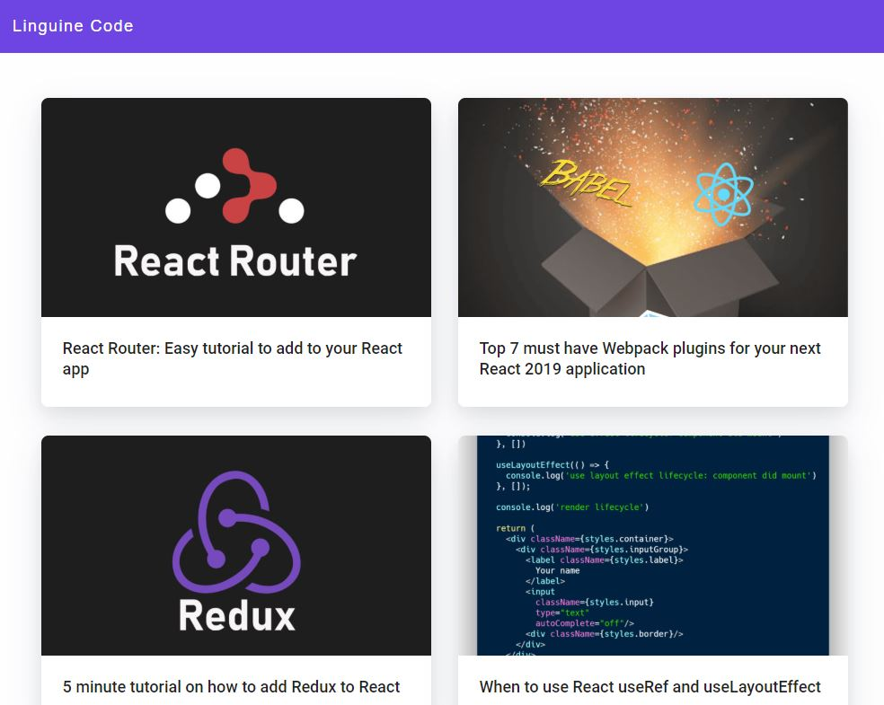 Top 5 resources to get you started with React