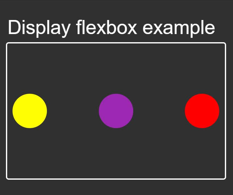flexbox reversed div element output