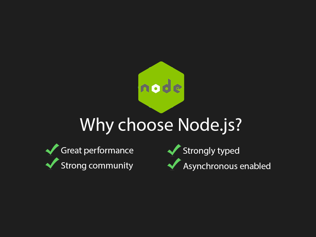 4 reasons why nodejs