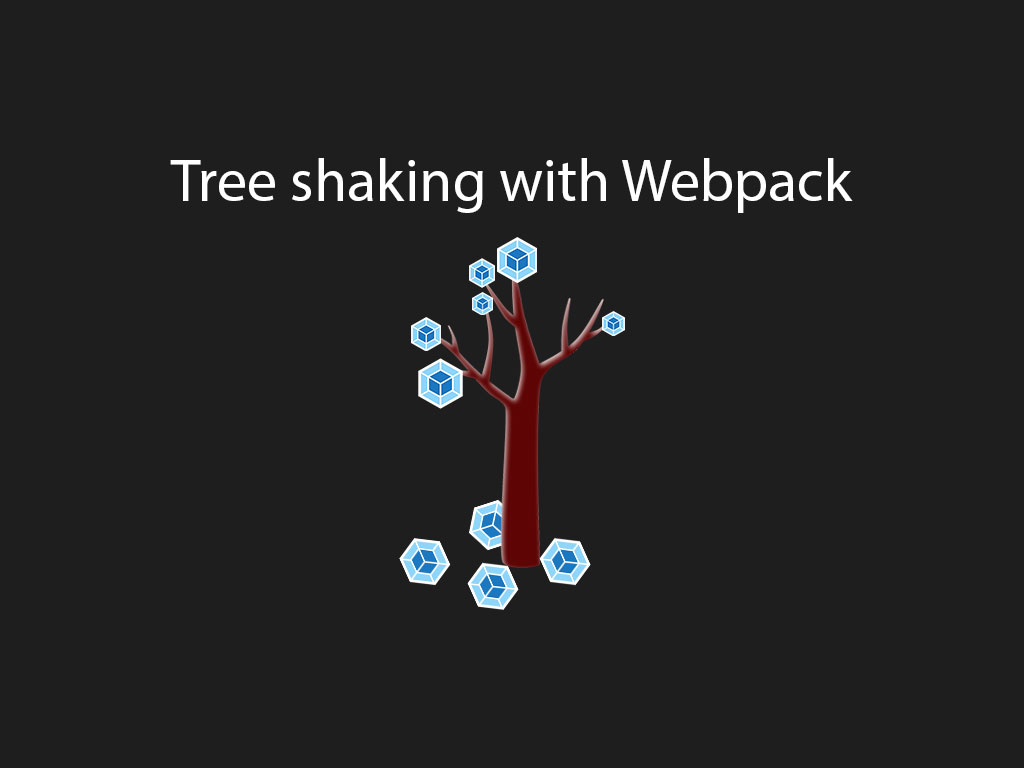 webpack tree shaking illustration