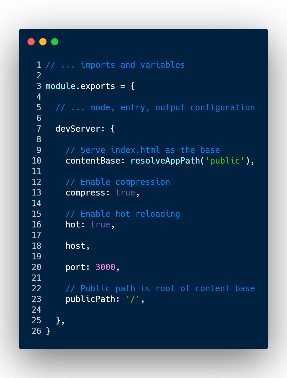 How to setup your perfect Webpack dev server environment for